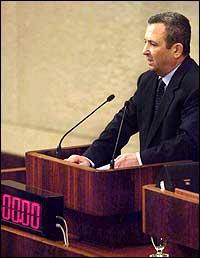 Ehud Barak vil bli leiar i det israelske arbeidarpartiet. (Scanpix-foto)