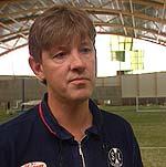 Svein Bakke har ikkje høyrt noko frå den danske storklubben enno. (Foto: NRK)