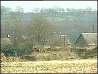 Det var på denne gården i Mayenne det første franske tilfellet av munn- og klovsyke ble oppdaget.