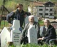 Freden på kirkegården i Tetovo ble ikke langvarig.