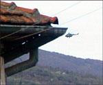 Kamphelikoptre blir nå satt inn i kampen mot den albanske geriljaen.