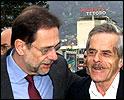 Javier Solanas besøk i Makdonia tidligere i år.