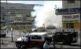 Bomben gikk av på en buss i Jerusalem (foto: EBU).