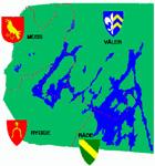 Moss, Hobøl, Rygge og Råde - de fire Østfoldkommunene i Morsa-prosjektet får med seg Spydeberg, hvis formannsskapet følger rådmannens innstilling.