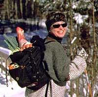 Skitur med lammesteik. Foto: Tøllefsen/OFK