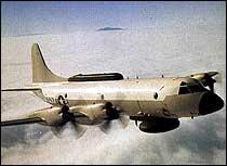 Et udatert bilde av et EP-3 fly fra USAs marine, som brukes til elektronisk overvåkning til sjøs. Et tilsvarende fly måtte nødlande sør i Kina i dag. (Foto: Scanpix/Reuters)