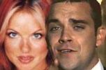 Vennskapet mellom Geri og Robbie Williams slår sprekker.
