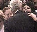 Clinton og Lewinsky den gang ingenting var avslørt. (Foto: Scanpix/AP)