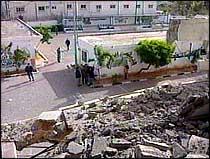 Bulldosere jevnet flere palestinske hus med jorden. (Foto: EBU)