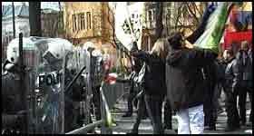 Det har vært ukentlige demonstrasjoner mot Israel i Oslo. (NRK-foto)