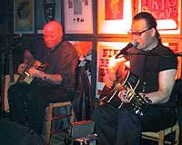 Jolly Jumper and Big Moe da de spilte på Ole Blues-festivalen i Bergen i år.