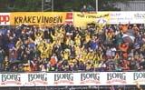 Kråkevingen, MFKs supportere. Foto:NRK