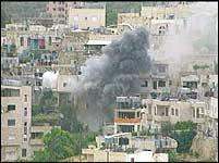 Beit Jala ble kraftig beskutt