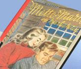 Ein av bøkene om Mette-Marit Tande frå 1949