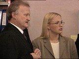 Tor Kjærvik, Kristin Kirkemo i retten (foto: NRK).