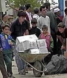Røde Kors i Makedonia (Scanpix)