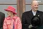 Kongeparet kommer til Trondheim to dager før bryllupet.