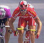 Cipollini var igjen sterkest i spurten.