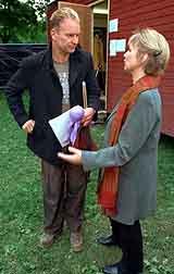 Sting ble utnevnt til Æres-Blekkulf før han gikk på scenen. Foto Sveinung Ystad, Dagbladet
