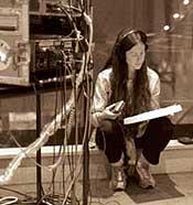 Bilde tatt av Alanis Morissette i Abby Road Studios i 1999.