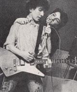 Edge og Bono i de gode gamle dager.