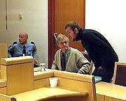 Tor Erling Staff forsvarer den tiltalte Joe Erling Jahr i Holmliadrapet.