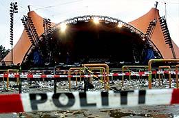 På Roskildefestivalen for to år siden døde ni mennesker under en Pearl Jam-konsert.