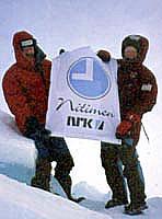 Børge på Nordpolen sammen med Nitimens Olav Viksmo Slettan...