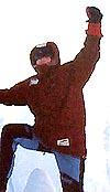 Ut på tur, aldri sur. Nitimens egen polfarer, Olav Viksmo Slettan har opplevd skikkelig kulde.