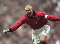 David Beckham fikk stjernetreff mot Chelsea i London.