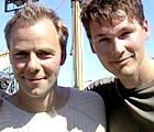 Video-kameratene Harald Zwart og Morten Harket