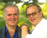 Sommerrevysessongen i gang for premiereløvene Andreas Diesen og Rune Alstedt.