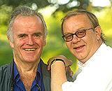Nitimens premiereløver. Andreas Diesen (t.v.) og Rune Alsted.