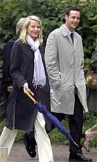 Mette-Marit og Haakon på det svenske kongeparet sitt sølvbryllup. Foto: Scanpix