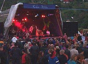 Konsertplassen på Riddu Riddu. (foto: NRK)
