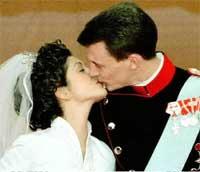 Prins Joachim og prinsesse Alexandra av Danmark. Foto: Scanpix