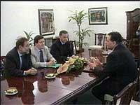 Trajkovskij i møte med et mektig trekløver - representanter for EU, NATO og OSSE